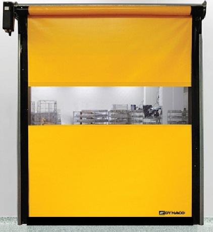 Промышленные рулонные скоростные ворота Dynaco серии D-311-LF