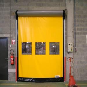 Промышленные рулонные скоростные ворота Dynaco серии D-313-LF