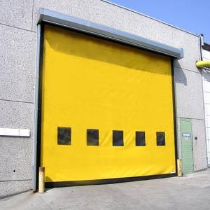 Промышленные рулонные скоростные ворота Dynaco серии M3 Power